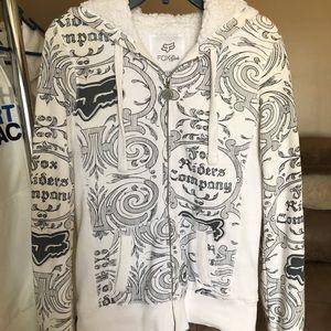 White Fox hoodie